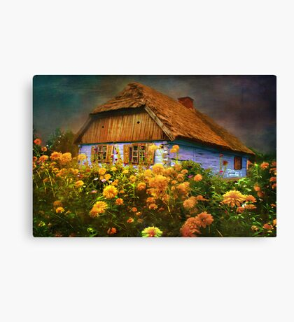 Museum of the Polish countryside. Sierpc.. Canvas Print