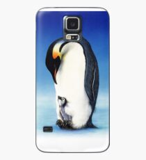 Emperor penguin with chick Case/Skin for Samsung Galaxy