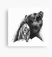 Bears Canvas Print