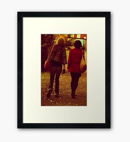 1976 or 2010 Framed Print