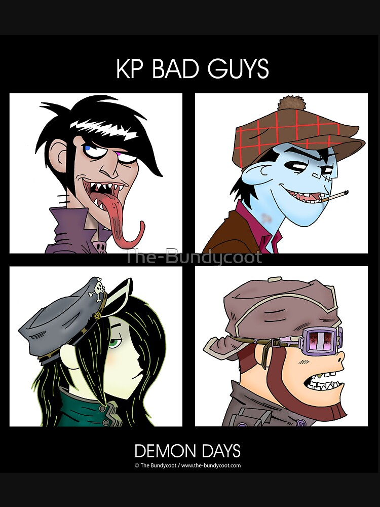 Kopie von KP Bad Guys No. 2 von The-Bundycoot