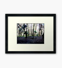 How surreal is the reality Framed Print