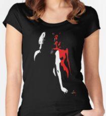 """Satan's Daughter"" T-Shirt Women's Fitted Scoop T-Shirt"