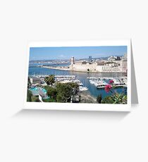 Picturesque old harbour Greeting Card