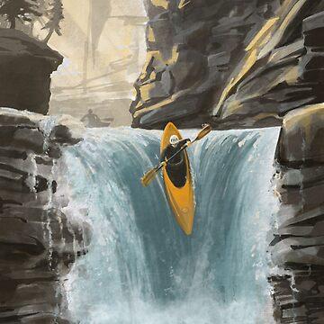 Kayak de aguas blancas de SFDesignstudio