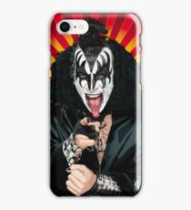 Kiss Gene Simmons vector art iPhone Case/Skin