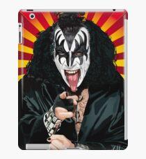 Kiss Gene Simmons vector art iPad Case/Skin