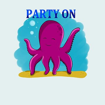 Party Octopus by ALPETUH-NIM