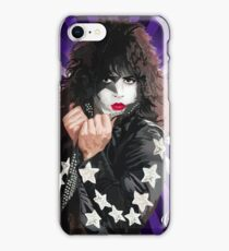 Kiss Paul Stanley vector pop art iPhone Case/Skin