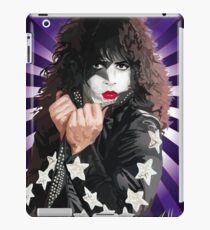 Kiss Paul Stanley vector pop art iPad Case/Skin