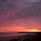 Red Sky at Night - Sailors Delight by JimSanders