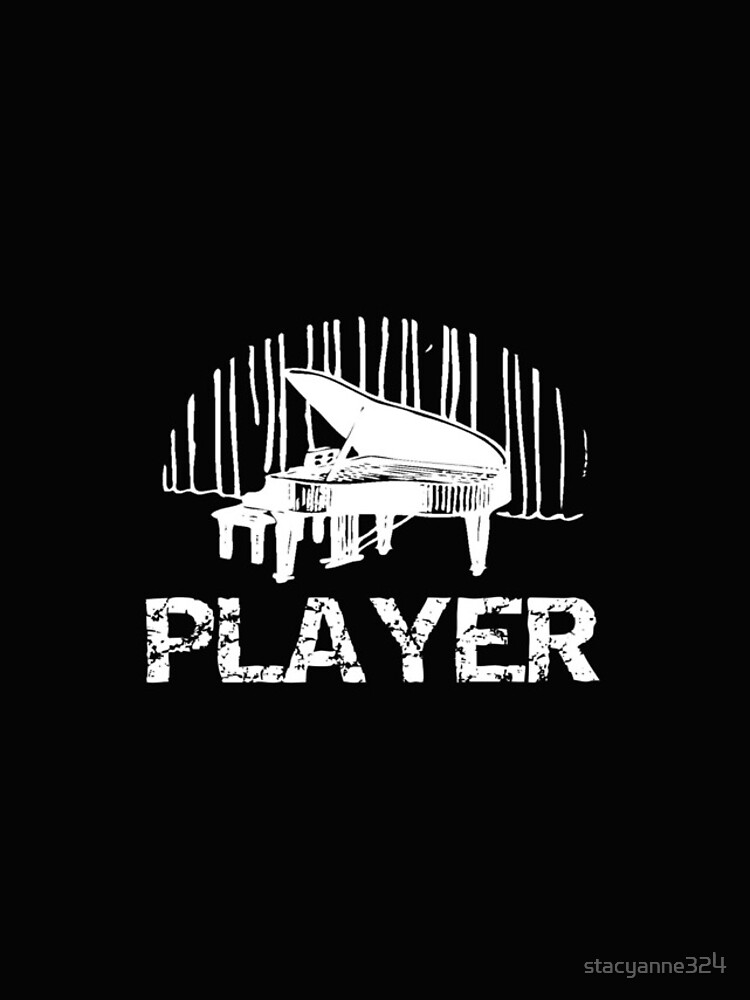 Piano Player Funny Pianist Gift by stacyanne324