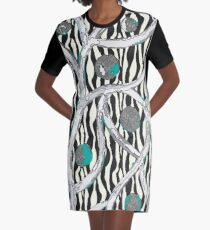 "Muster - Pattern ""Synapse"" T-Shirt Kleid"