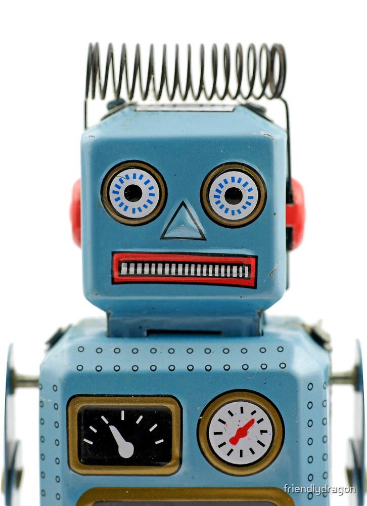 Robot Portrait 1 by friendlydragon