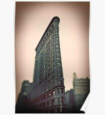 Flat Iron Building - NYC Poster