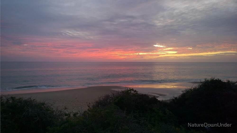 Sunset sweet as by NatureDownUnder