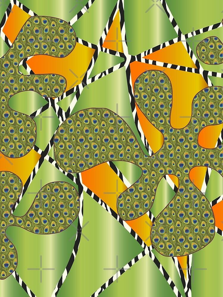 """Muster - Pattern """"Amöben"""" von WACHtraum"""