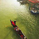 Gondola, Venice by Hugh Chaffey-Millar