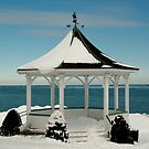Winter Gazebo by JimSanders