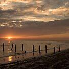 Sunset Pier by JimSanders
