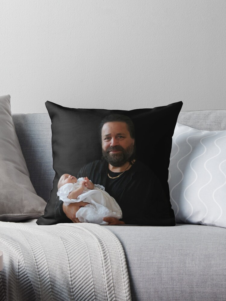 CHRISTENING BROTHER AND GRAND BABY..PRIVATE SALE..FAMILY BROTHER..SALE SOLD ONE LARGE PILLOW AND INSERT TY LEO HUGS. by ✿✿ Bonita ✿✿ ђєℓℓσ