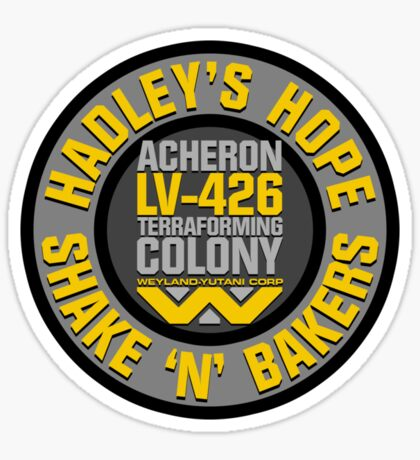 Hadley's Hope Shake 'N' Bakers Sticker
