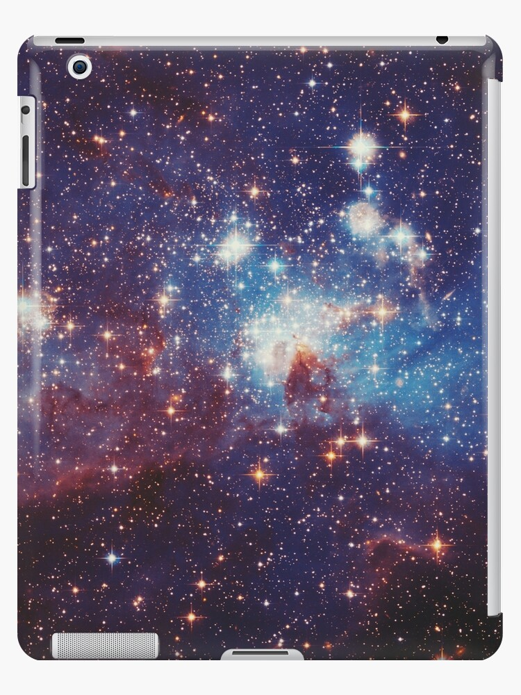 Starfield - Stars, Nebulae, Starburst by Denise Giffin
