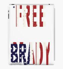FREE BRADY AMERICAN FLAG iPad Case/Skin