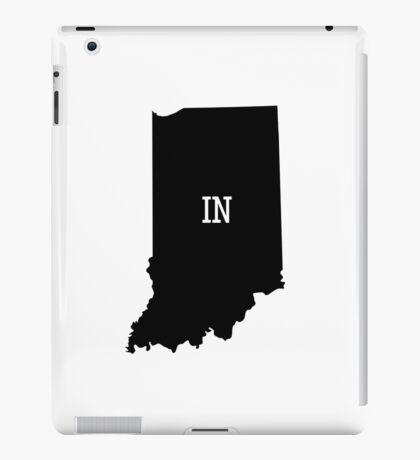 Indiana State Map Abbreviation IN iPad Case/Skin