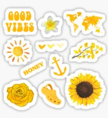 Pack Jaune Sticker