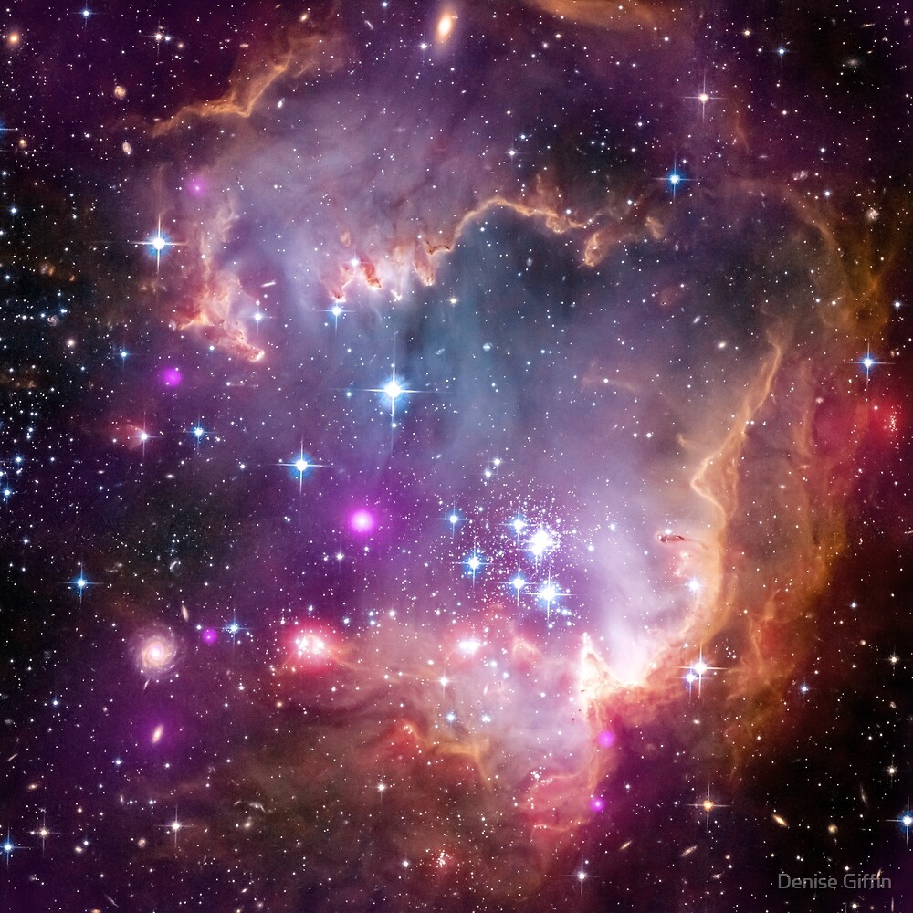 Small Magellanic Cloud  by Denise Giffin