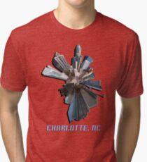 Charlotte, NC tee Tri-blend T-Shirt