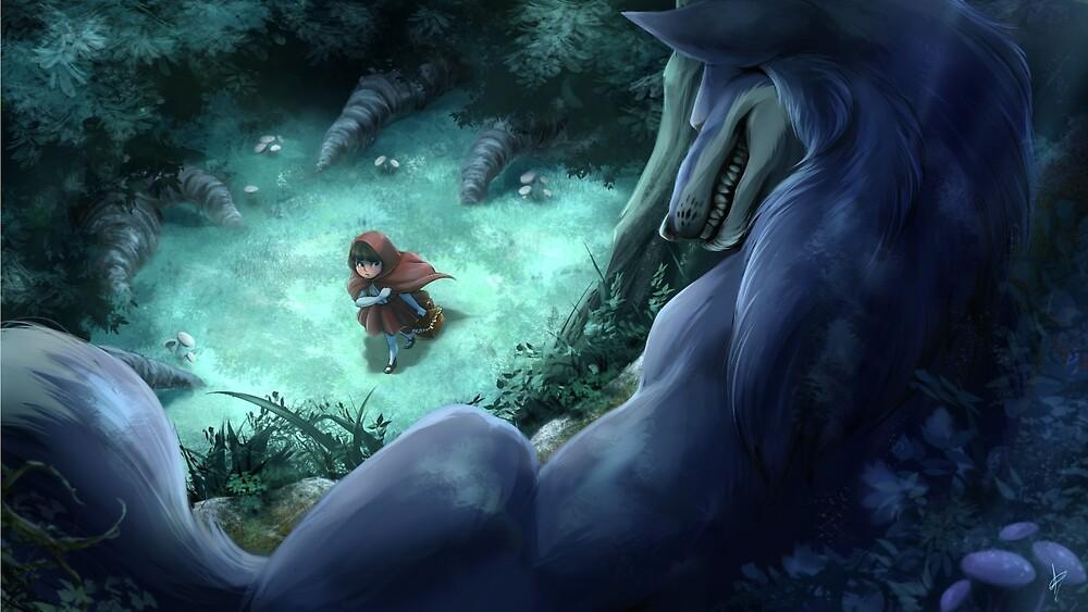 Little Red Riding Hood by draggincat1