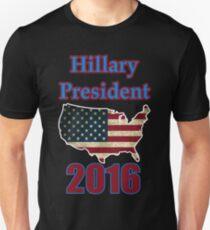 hillary president 2016. T-Shirt