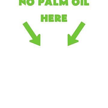 Copy of No Palm Oil Here - Anti Palm Oil Design - Save the Orangutans  by JuditR