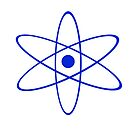 #Atom #Symbol #Emoji #Physics illustration symbol shape abstract design creativity art science element performance imagination by znamenski