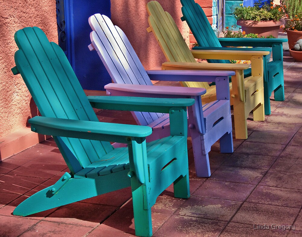 Meet You on the Patio by Linda Gregory