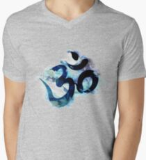 Aum - Painting Men's V-Neck T-Shirt
