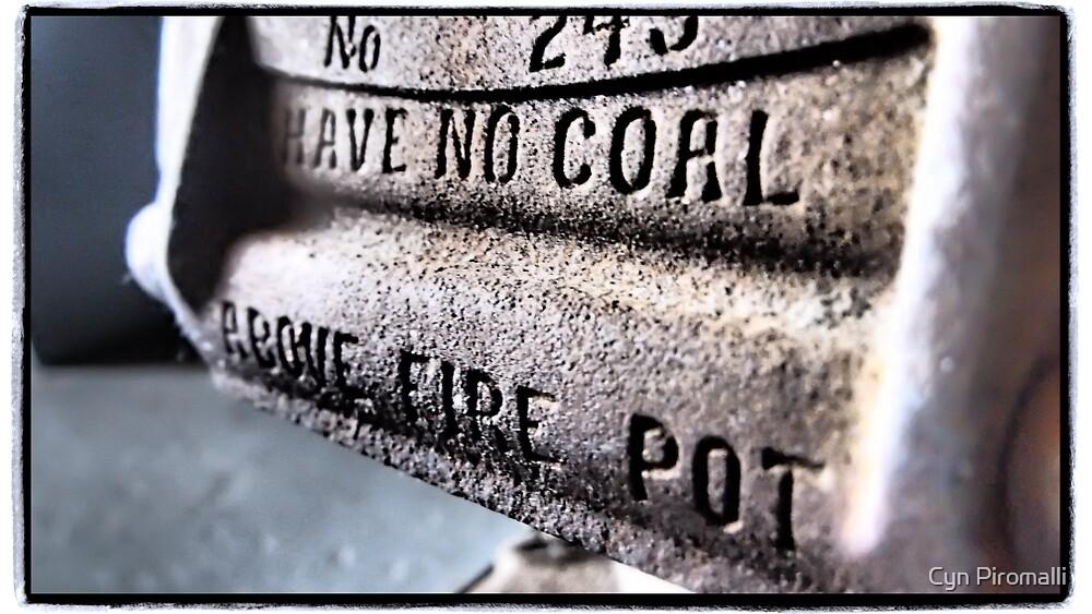 Fire Pot by Cyn Piromalli