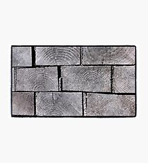 Wooden Pavers Photographic Print