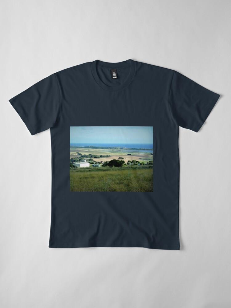 Alternative Ansicht von Ackerland in der Nähe des Tower HIll Vic. Premium T-Shirt