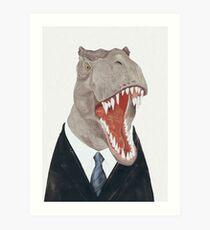 T-Rex Kunstdruck
