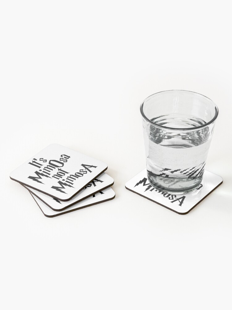 Alternate view of It's MimOsa Coasters (Set of 4)