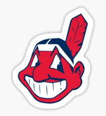 Cleveland Indians Chief Wahoo Logo Sticker
