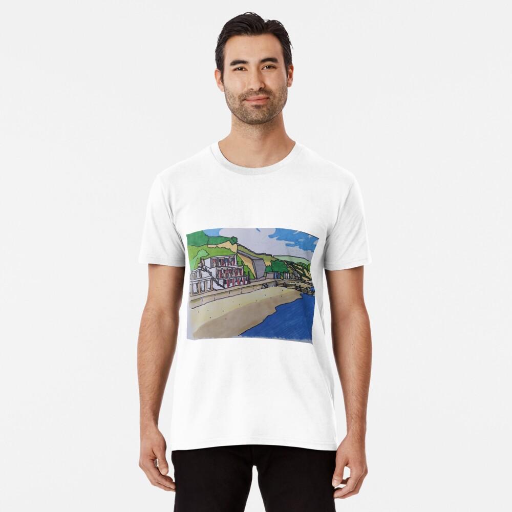 North Beach Swanage Bay 1 Premium T-Shirt