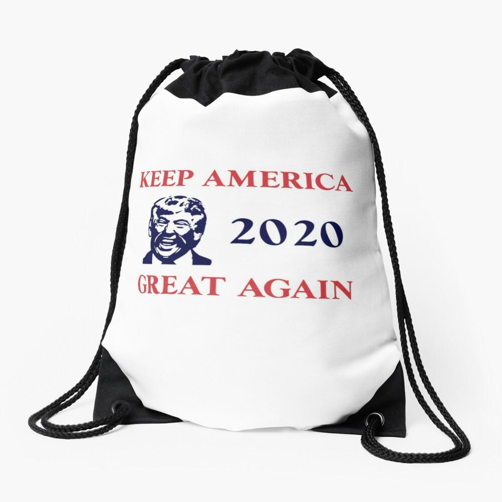 Trump 2020 Keep America Great Again. Gifts Drawstring Bag