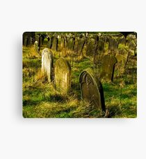 Neglected Graves Canvas Print