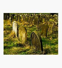 Neglected Graves Photographic Print