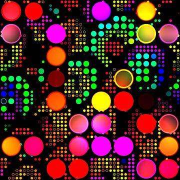 Polka Dot Disco Lights by Prawny
