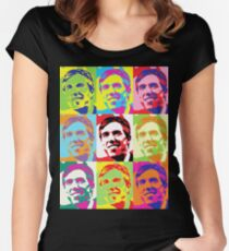 Beto 2020 Viva Beto Tailliertes Rundhals-Shirt
